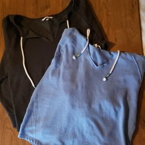 2 Victoria's secret pullover sweatshirts XS
